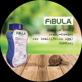 Granule feed, ready-to-use for Snail (Helix spp) Control